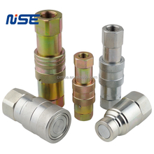 Flush type Flat Face Hydraulic Quick Coupler Coupling Socket & Plug Set ISO16028