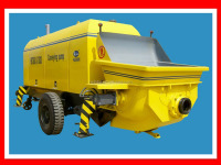 HBTS60.13-112DS Trailer Concrete Pump