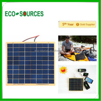 5w Epoxy Boards solar panel Mini Thin Film Solar Panel for iphone charger