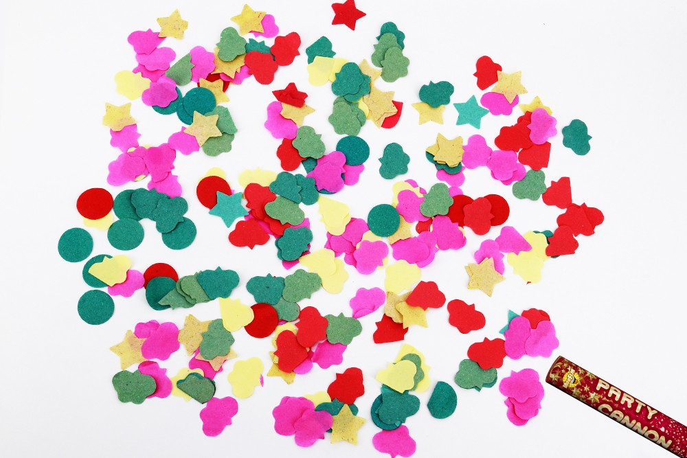 Los Angeles Best Selling party ideas celebration poppers biodegradable confetti