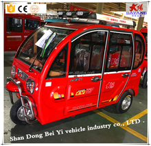 Chinese hot Diesel engine New Design tricycle for passenger for south America Electric Car