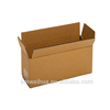 Plain brown Recycled Corrugated Cardboard Single Wall Standard Long Box for crafts packaging