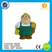 Manufaturer Business Gifts cartoon 3d pvc fridge magnet