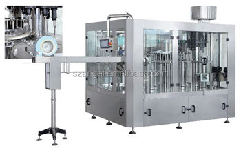 Automatic Mineral and Pure Water Filling Machine for 330ml - 2000ml PET bottle (4000BPH)
