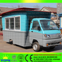 Food Manufacturer China Trolley Bakery Trailer Carts