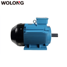 Wolong 380V 2P IE3 4KW Super High Efficiency three phase asynchronous cooling fan motors