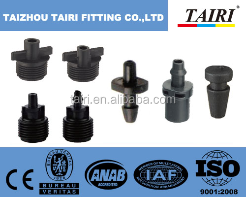 Agricultural Garden Irrigation Plastic barbed connector / Fitting pipe Connector Barb Tee