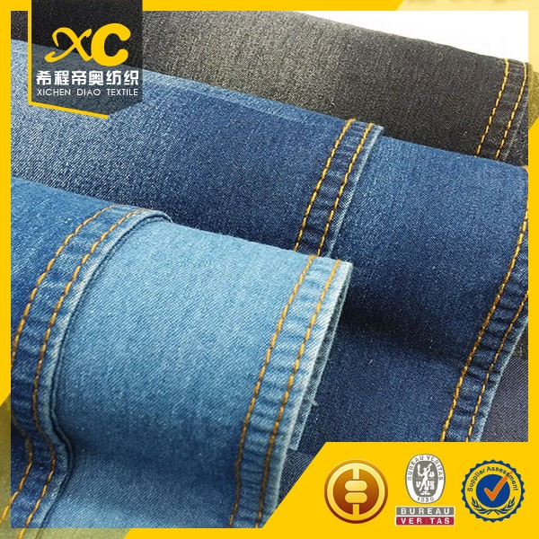 New design slim pants denim fabric purchase made in China
