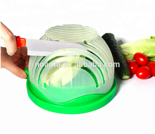 Hot Sales 60seconds High Quality Salad Cutter Bowl for fruit vegetable