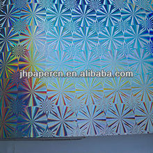 GuangZhou attractive snow pattern laser paper