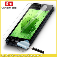 for iPhone 5 5s 5c tempered glass screen protector High transparant 0.26mm ultra-thin anti scratch 9h hardness tempered