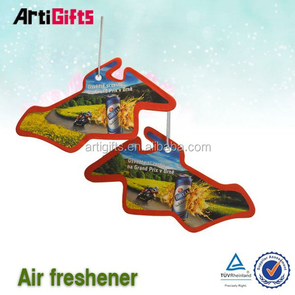New fashion products flower paper hanging car air freshener