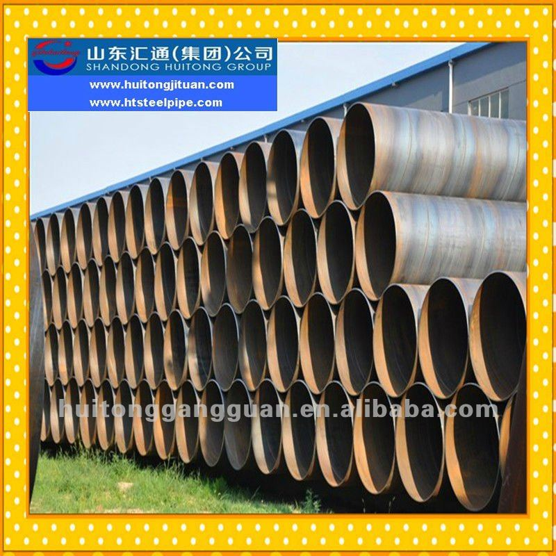 OD 219mm to 3600mm Large Diameter Thin Wall Thickness ASTM A53-B/API 5L SAW/SSAW/Spiral Welded Pipe Mill