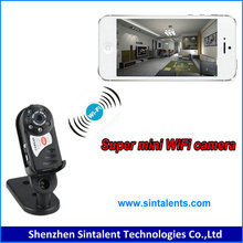 Small size 180 panoramic wifi external bluetooth video camera for mobile