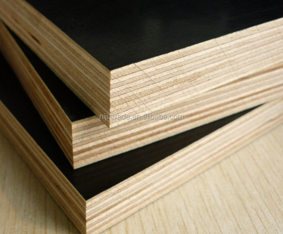 Lowest price of commercial board black or brown film faced plywood construction plywood plywood industry