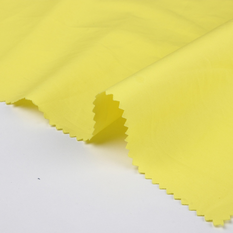 high quality cotton down proof fabric plain dye cotton fabric