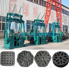 energy efficient and easy installation coal/charcoal honeycomb briquette machine/production line