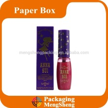 Fashion lipstick customized packaging make up cosmetic box cosmetic empty packaging