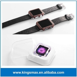 OEM custom pattern lovely pc case for apple watch with retail package, for apple watch protective case