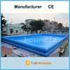 Double Layer Large Inflatable Swimming Pool With CE Certificate
