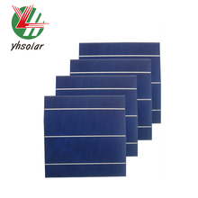 High Efficiency 4.33W Polycrystalline Solar Cell Chip for Multi Use