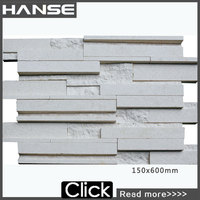HS-DA13 Foshan Very low price nano marble exterior wall cladding tile