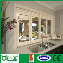 Decorative Glass Partition For Kitchen Interior Aluminium Folding Windows And Doors