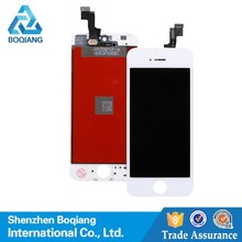 for apple iphone 5s full lcd screen assembly, for iPhone 5S flexible LCD Touch Glass Replacement