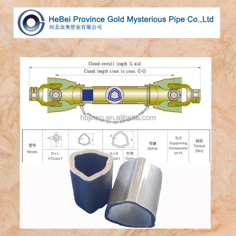Triangle Pto Shaft Tubing : Pto shafts alloy steel seamless tube triangular view