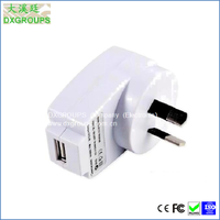 AC AU wholesale usb wall charger for iphone Small Arc Style ( 5V/500mA )