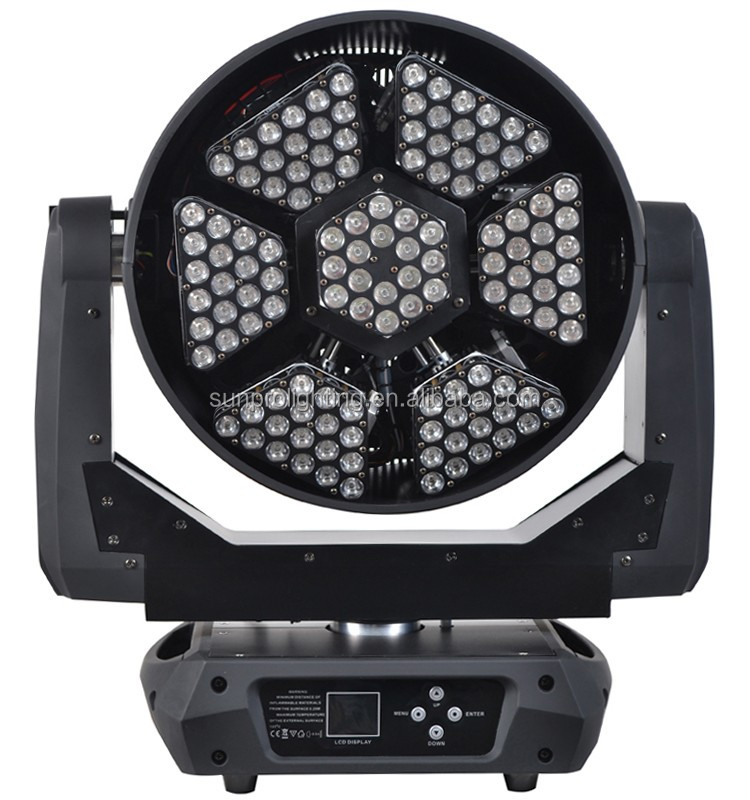 3w*126 led fast rotation stage light structure new product China make great colour effect
