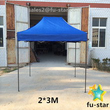 PN high quality 600D oxford canopy custom logo printing advertising outdoor pop up gazebo folding roof top tent