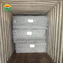 2016 hot sale Galvanized gabion boxes,galfan gabion baskets,PVC coated gabion cage!!! Real factory