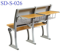 No.SD-S-026 Durable Folding University Amphitheater Classroom Student Chair With Tablet Arm