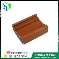 2016 new products bright dip wood grain extruded aluminum t track