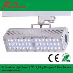 New design High CRI led track light/led rail light 30w for shop gallery Track Lighting project