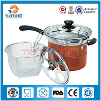 Hot selling stainless steel noddle pot / steamer pot / soup stock pots