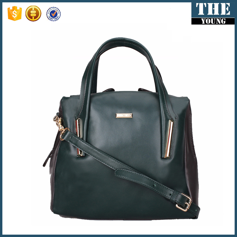 China suppliers new wholesale cowhide women fashion leather handbag 2017