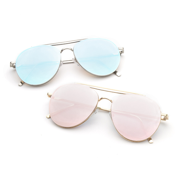 2018 Retro Style Personality Cat Eye Half Alloy Shades Sunglasses Unisex