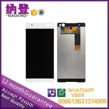 Fast delivery retina lcd display for Sony C5 lcd C5 Ultra Dual digitizer assembly digitizer assembly
