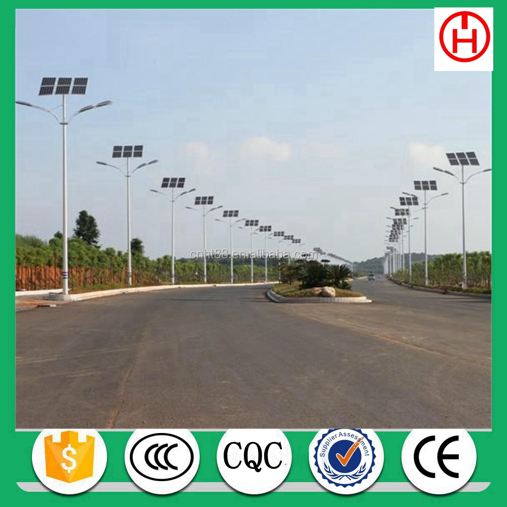 IP65 IP Rating solar led street light price with gel/lithium battery