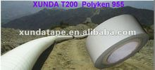 outer wrap tape of white color for buried pipeline