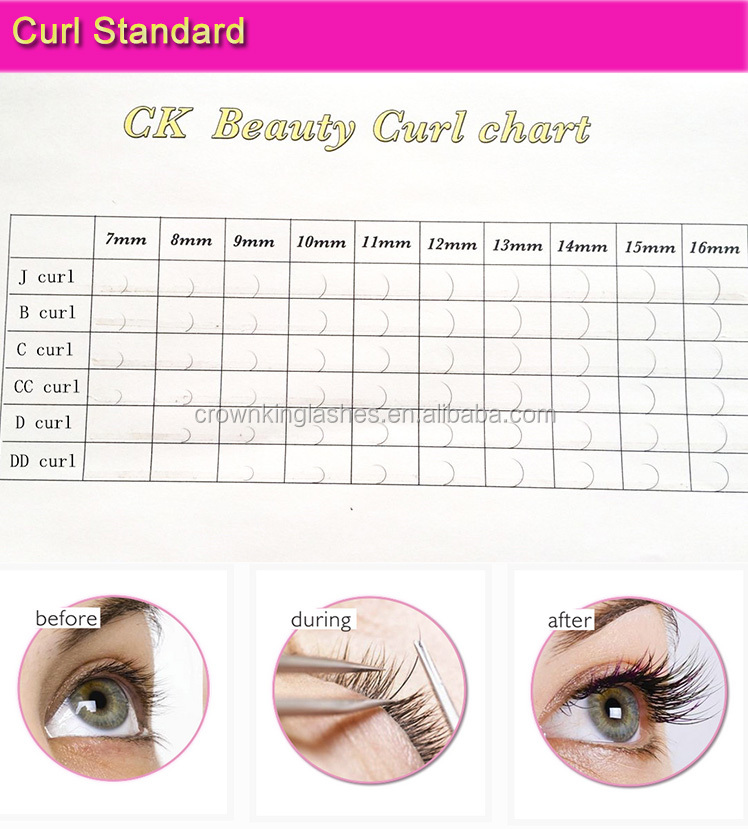 wholesale new package 24rows eyelash extension with private label