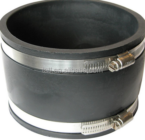 flexible coupling rubber/ fernco flexible coupling