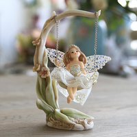 Resin Fairy Figurine Statue With Butterfly