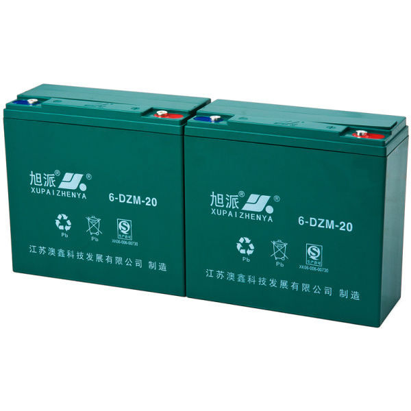 XUPAI Battery best battery for electric bike QS CE ISO 12v electric bike lead acid batteries