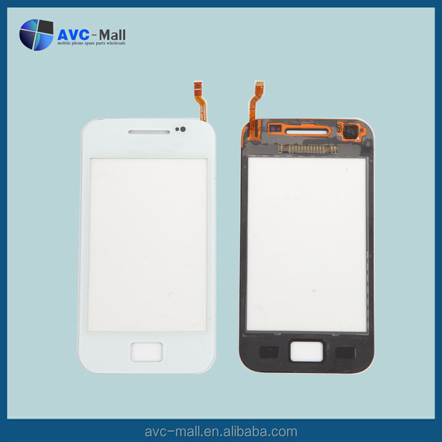 mobile phone spare parts for Samsung Galaxy Ace GT S5830i white touch screen white
