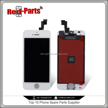 front assembly lcd display + frame assembly+white display lcd for iphone 5s