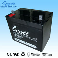 12v 80ah Rechargeable Solar Battery
