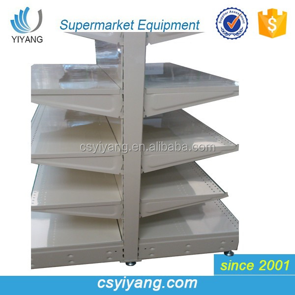 Supermarket Rack Type And Metallic Material Storage Shelf